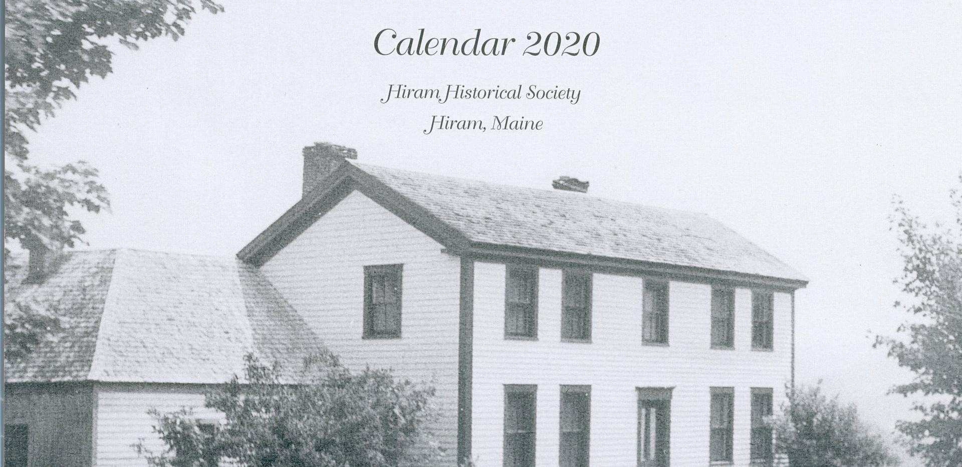 Hiram Maine 2020 Bicentenial Calendar