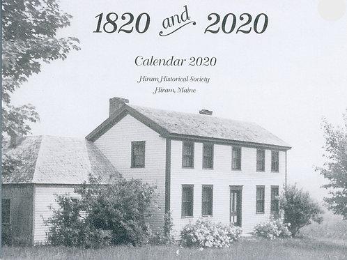 2020 Calendar - Celebrating Maine State Bicentennia