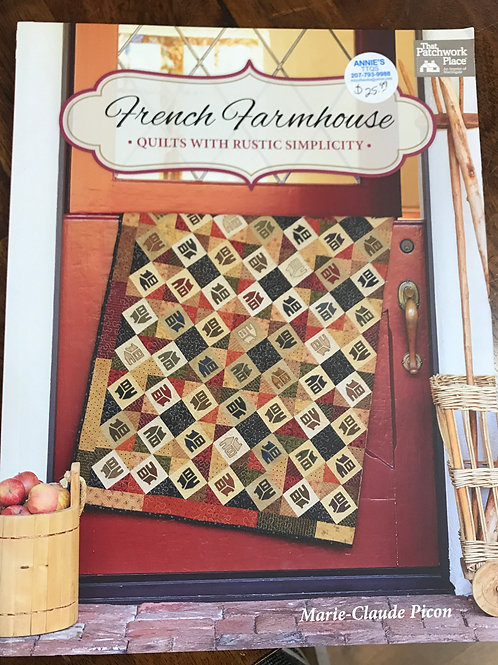 French Farmhouse Quilts with Rustic Simplicity