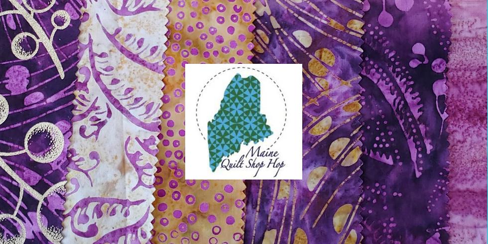 Maine Quilt Shop Hop Month