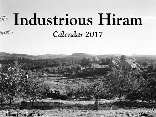 2017 Industrious Hiram Calendar