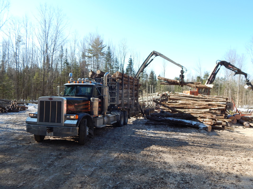 Log trucking