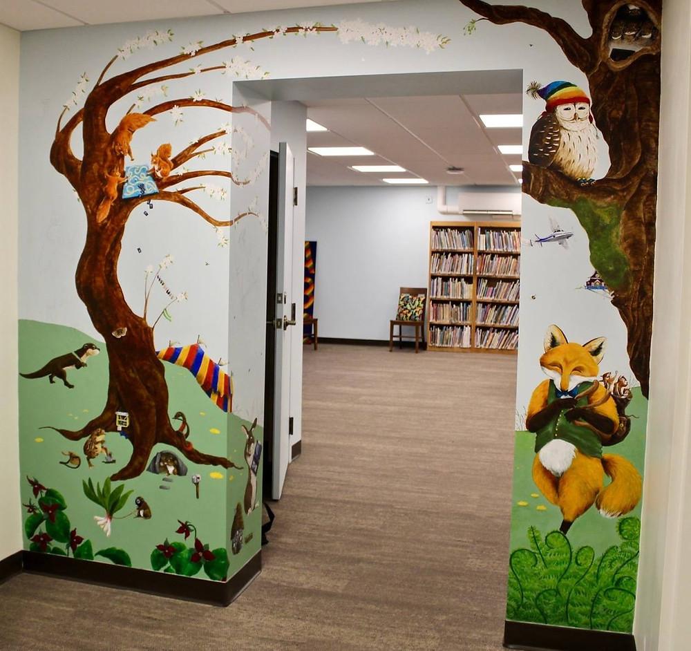 Art at Bonney Memorial Library