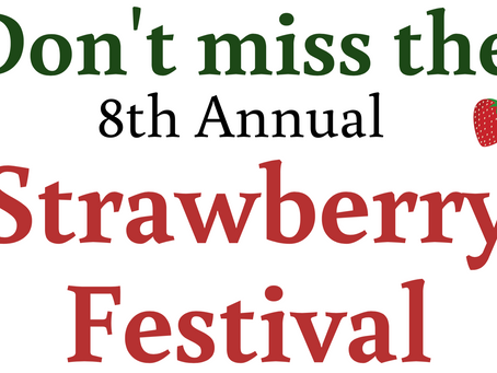Annual Strawberry Festival - June 29, 2019