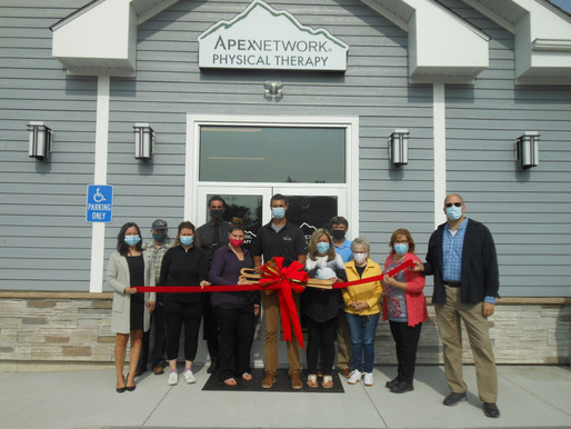 Sanford/Springvale Chamber Welcome ApexNetwork Physical Therapy