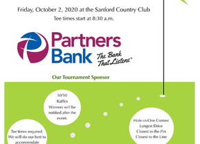 Joint Kiwanis & Rotary Golf Tournament - Oct. 2, 2020