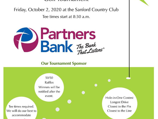 Joint Kiwanis & Rotary Golf Tournament - Oct. 2, 2020