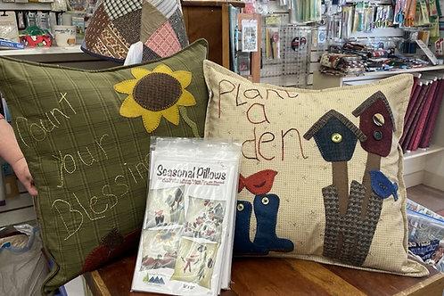Seasonal Pillow Pattern Pack (4 patterns)