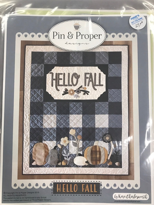Pin & Proper - Hello Fall Pattern