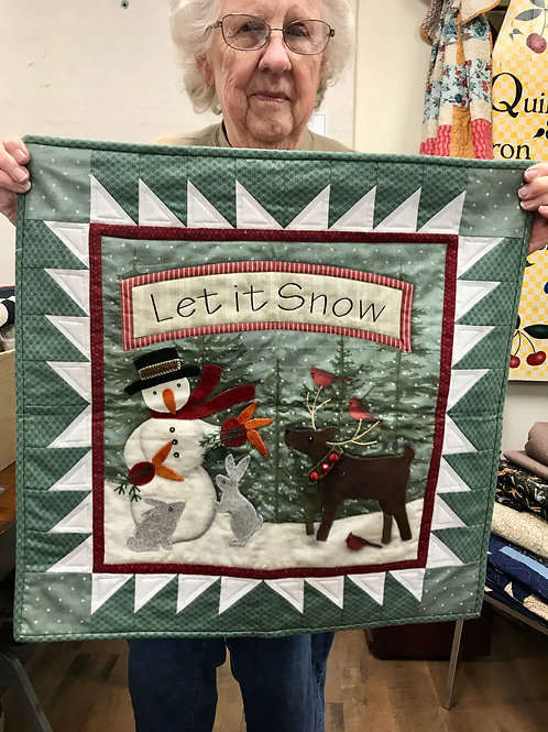 """Let it Snow"" Pattern"