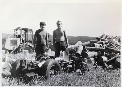 Father and son Robert and David Pike