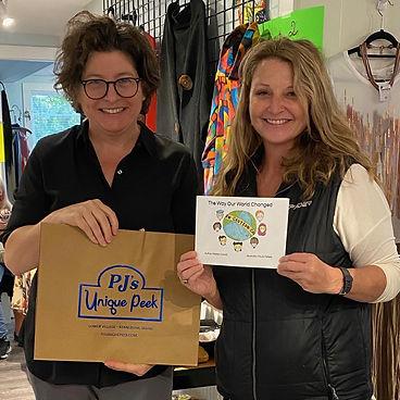 Local Author Melissa Carroll and Illustrator Paula Peters