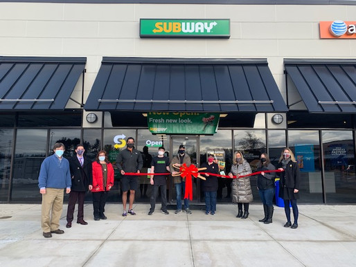 Sanford/Springvale Chamber Congratulates Subway