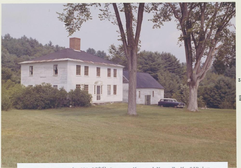 John Watson house photographed by Roger Flint during Hiram's Sesquicentennial celebrations
