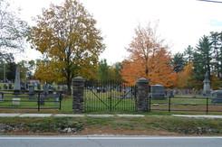 2019 Hiram Village Cemetery fence gate D