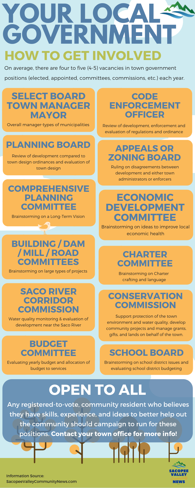Local government infographic