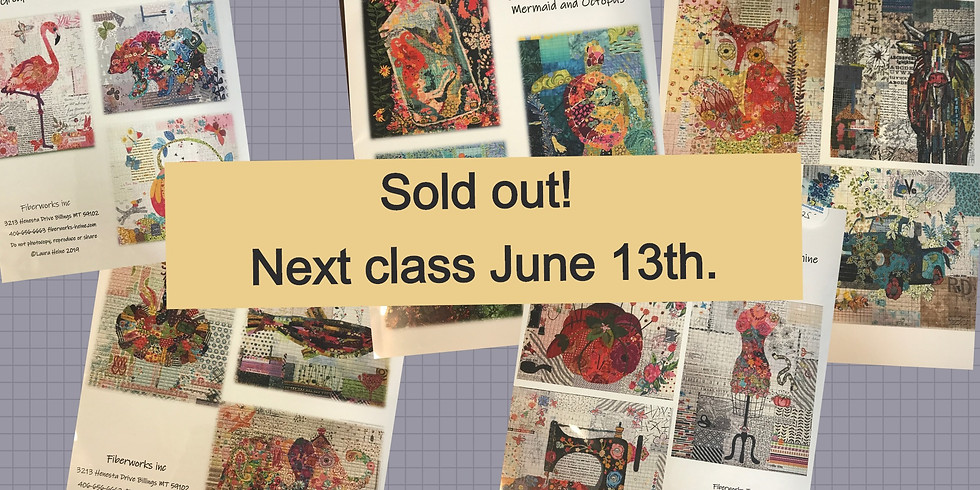 Fabric Collage Class with Joan Emerson