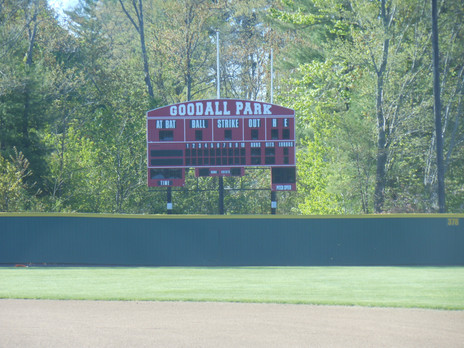 Goodall Park Scoreboard