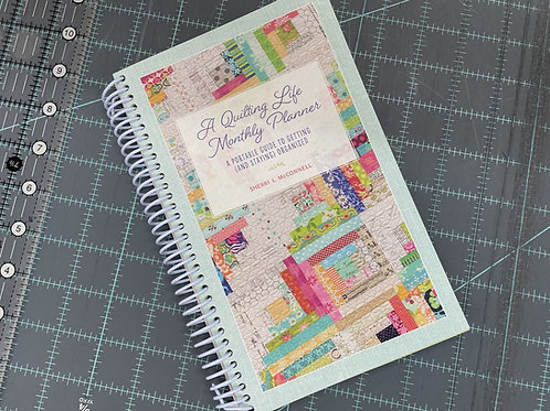 Quilting Life Monthly Planner