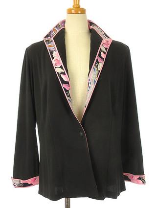【宅配買取STEP】レオナール LEONARD のプリントが素敵なジャケットを査定させて頂きました♪