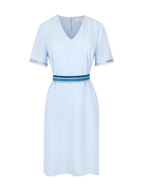 Sukienka z Paskiem Oceania