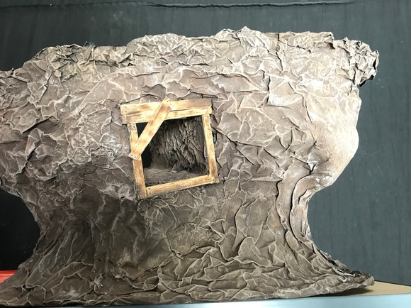Mineshaft installed on an existing set piece