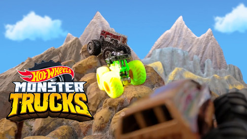 Hot Wheels: Monster Trucks Island