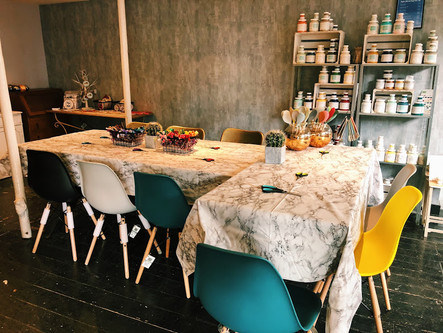 Behind the Workshop: Sip & Stitch at Cositas.