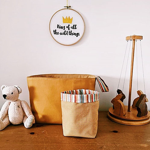 King Of All The Wild Things Embroidery Hoop
