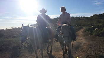 Horseback Riding Pic - Ron and Jolie - S