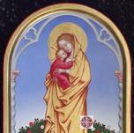 icona della Madonna del roseto
