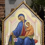 """Madonna """"aiuto dei cristiani perseguitati"""""""