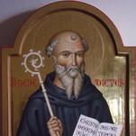 icona di san Benedetto abate