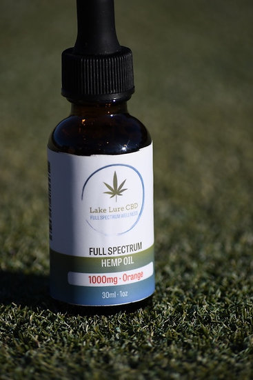 1000 Full Spectrum Hemp Derived Oil