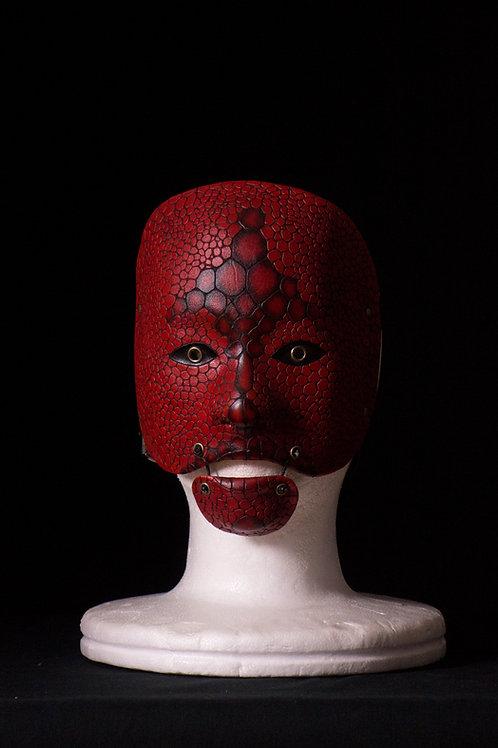 Snake skin Noh mask