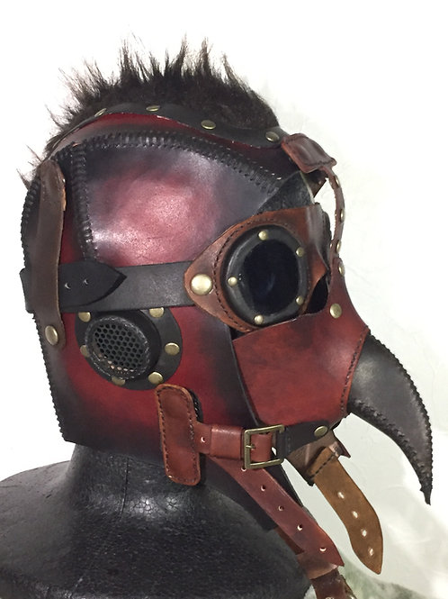 Leather Pilot helmet