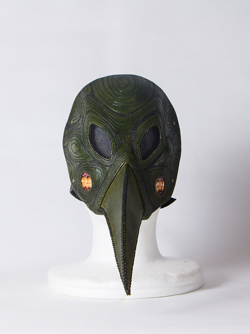 "Leather half mask""Pest mask"""