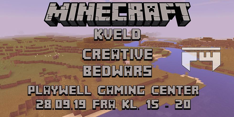 Minecraft kveld på Playwell Gaming Center