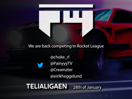 We are back to Rocket League!