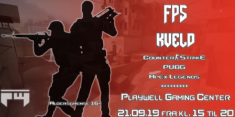 FPS kveld på Playwell Gaming Center