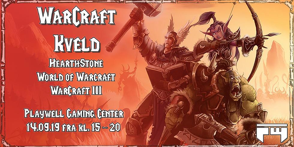 WarCraft kveld på Playwell Gaming Center