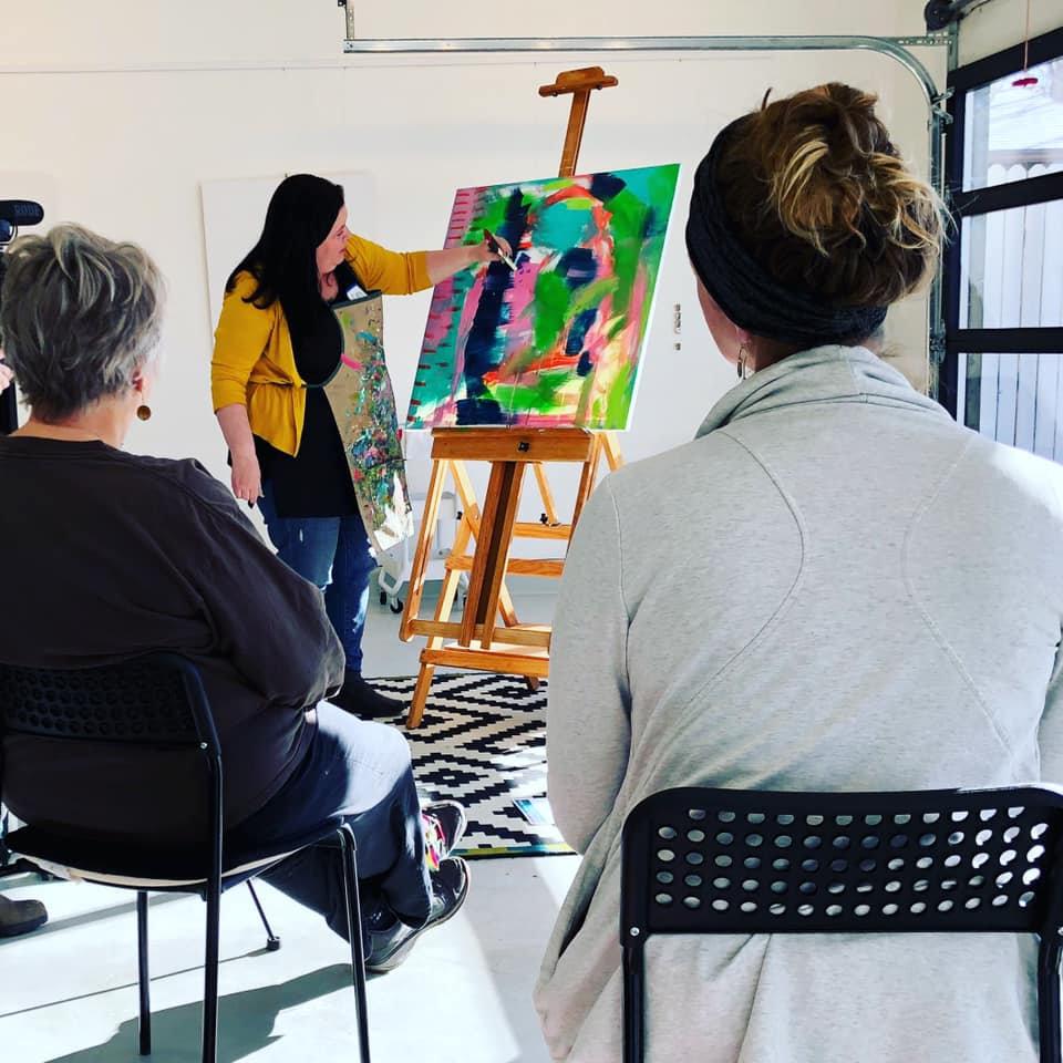 11/13/21 Unbound Painting Workshop