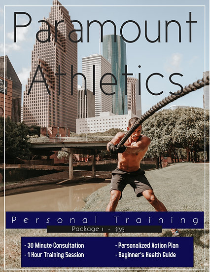 Personal Training - Package 1