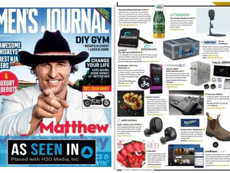 Men's Journal Feature