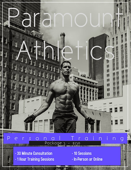 Personal Training - Package 3