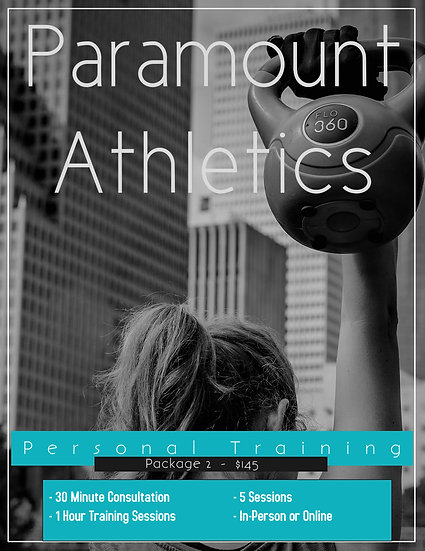 Personal Training - Package 2