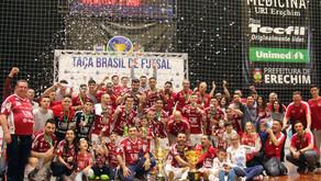 Com clássicos do futsal, Supercopa inicia nesta semana no Rio Grande do Sul