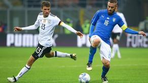 Amistoso - Alemanha x Itália: um jogo de compadres