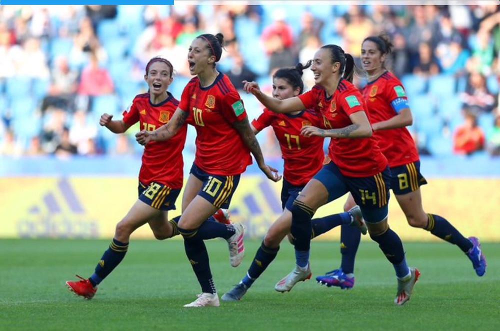 FOTO: Seleção Espanhola de Futebol Feminino/Twitter
