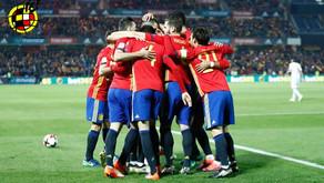 Espanha goleia e vira líder do grupo G